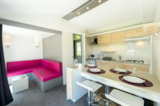 Rental - Mobile home PREMIUM Perceval 29m² (2 bedrooms) + terrace - Flower Camping le Kergariou