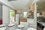 Rental - Mobile home CONFORT+ Arthur 31m² (3 bedrooms) + terrace - Flower Camping le Kergariou