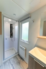 Rental - Mobile home PREMIUM Morgane 32m² (2 bedrooms) + terrace - Flower Camping le Kergariou