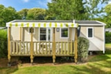 Rental - Mobile Home Premium Morgane 32M² (2 Bedrooms) + Sheltered Terrace - Flower Camping le Kergariou