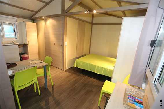 Accommodation - Chalet Studio Pmr - Camping LA FOUGERAIE