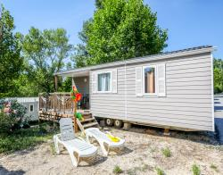 Location - Mobil Home Ciela Family - 26M² - 2 Chambres - Camping Le Pommier