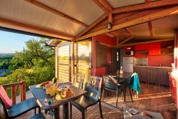 Location - Ciela Confort Chalet - 25M² - 2 Chambres - Climatisation - Tv - Camping Le Pommier