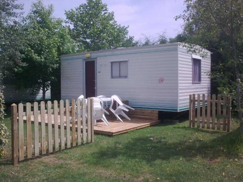 Location - Mobilhome 'Bambi' - Camping Le Moulin des Oies