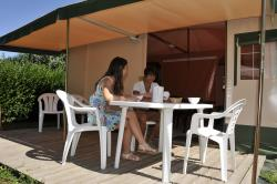 Bungalow tenda ECO 25m² (senza sanitari)
