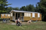 Rental - Mobile Home Premium  3 Bedrooms 38M² - Flower Camping du Port Caroline