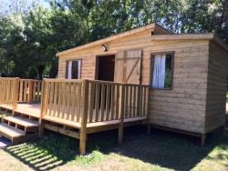 Wooden cabin Family 25m² - 3 bedrooms (without toilet blocks)