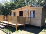 Rental - Wooden Cabin Family 25M² - 3 Bedrooms (Without Toilet Blocks) (Night + Breakfast) - Flower Camping du Port Caroline