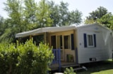 Rental - Mobile Home Cocooning Confort 16M² (1 Bedroom) + Sheltered Terrace (Saturday) - Flower Camping de Kerleyou