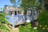 Rental - Mobile Home Detente Confort 26M² (2 Bedrooms) + Terrace 8 - 13M² ( -Saturday) - Flower Camping de Kerleyou