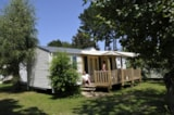 Rental - Mobile Home Convivialite Confort 36M²  (3 Chambres) + Sheltered Terrace 13.5M² (Saturday) - Flower Camping de Kerleyou