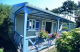 Rental - Chalet Decouverte Confort 32M² (3 Bedrooms) + Sheltered Terrace 16.40M² - Flower Camping de Kerleyou