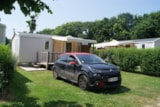 Rental - Mobile Home Oceane Confort 27M² (2 Bedrooms) + Terrace 8 - 13M² (Sunday) - Flower Camping de Kerleyou