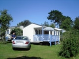 Rental - Mobile Home Detente Confort 26M² (2 Bedrooms) + Terrace 8 - 13M² (Sunday) - Flower Camping de Kerleyou