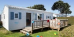 Huuraccommodaties - Cottage Confort 2 kamers - Sea Green - Camping Emeraude
