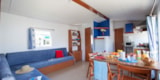 Rental - Cottage Confort 2 bedrooms - Sea Green - Camping Emeraude