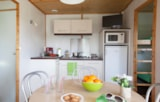 Rental - Chalet Confort 2 bedrooms - Sea Green - Camping Emeraude