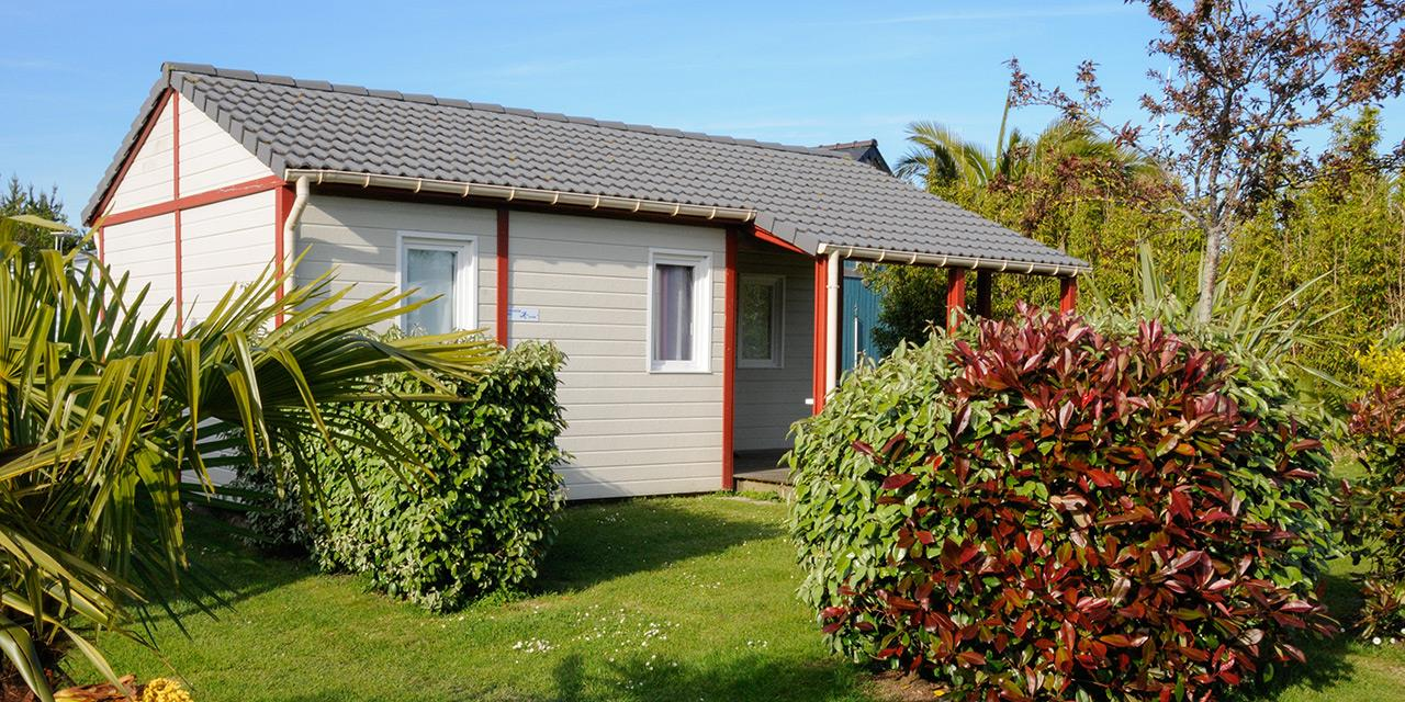 Location - Chalet Confort 2 Chambres - Camping Emeraude