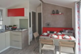 Rental - Cottage Privilège 3 bedrooms - Sea Green - Camping Emeraude