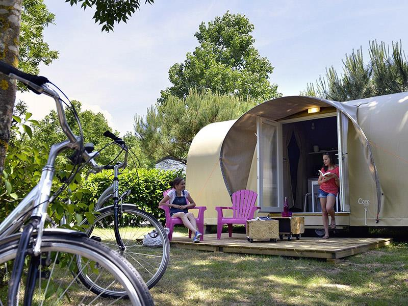 Location - Lodge Coco Sweet 2 Chambres - Camping Emeraude