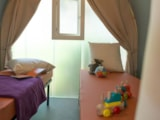 Rental - Lodge Coco sweet 2 bedrooms - Sea Green - Camping Emeraude