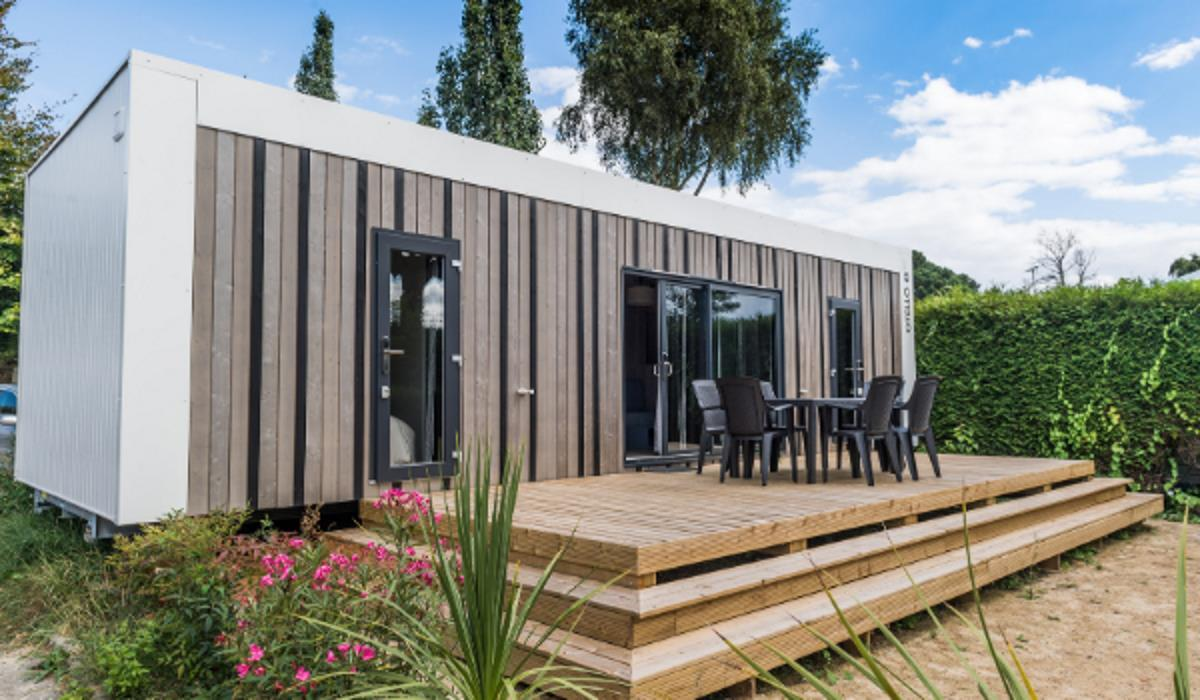 Location - Cottage Vip 2 Chambres - Camping Emeraude