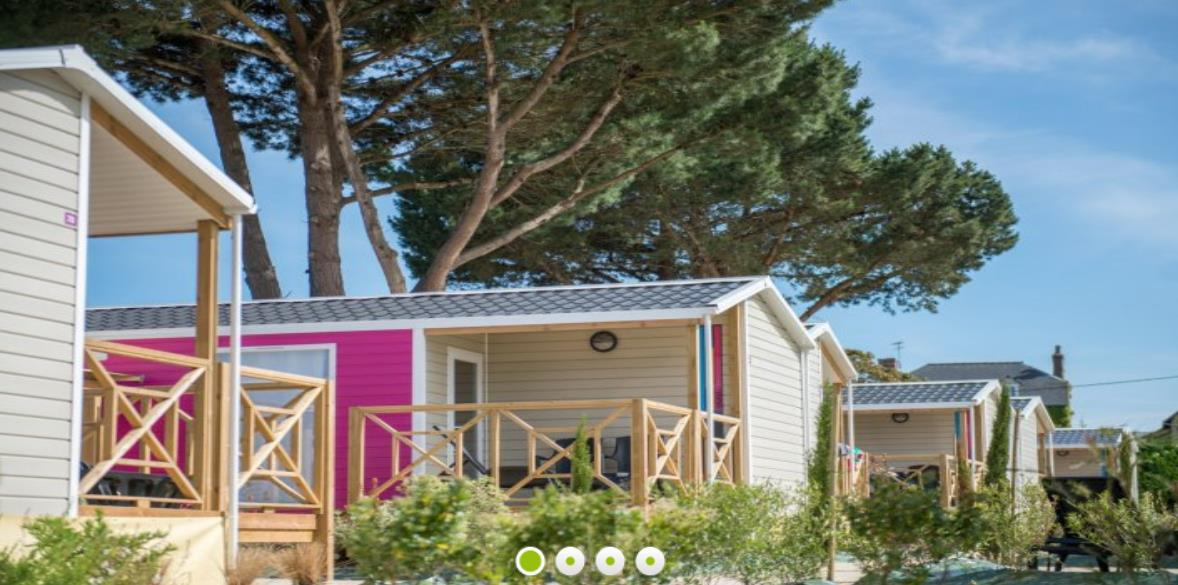 Location - Cottage Privilège 2 Chambres - Camping Emeraude