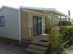 2 bedroom mobile home in LA COTE PICARDE CAMPSITE at 400m with free access to la baie de somme campsite