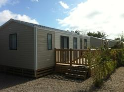 3 bedroom mobile home in LA COTE PICARDE CAMPSITE at 400m from the main campsite with free access to la baie de somme campsite