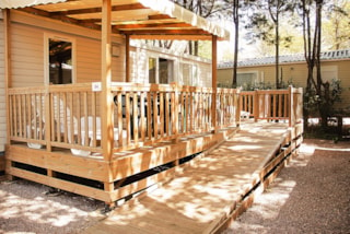 Mobil-home 33m² HELIOS - 2 bedrooms / Wheelchair friendly (4/5 adults )