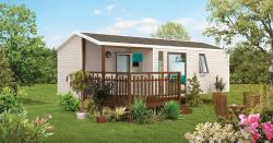Mobil-home 27m2- 2 chambres ( 4 personnes )