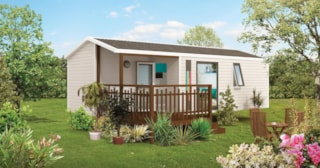 Mobil-home 27m² - 2 bedrooms ( 4/5 adults )