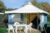 Rental - Canvas bungalow 16m² (2 bedrooms) - Camping Le Parc de Vaux