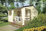 Rental - Mobi-toile Tit'home 21m² (2 bedrooms) (without toilet blocks) - Camping Le Parc de Vaux