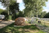 Pitch - Pitch Trekking Package by foot or by bike with tent - Camping Le Parc de Vaux