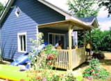 Rental - Chalet (2 bedrooms) Wheelchair friendly - Camping Le Parc de Vaux