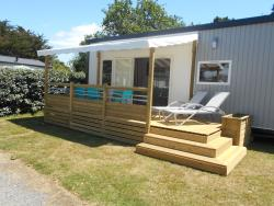 Mobile-home VIP 40m² - 2 bedrooms + Television