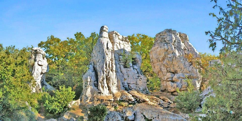 Nähere Umgebung CAMPING LES TRUFFIERES*** - ST MARCEL D'ARDECHE