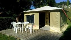 Furnished tent Confort Caraïbes 20m² (2 bedrooms)