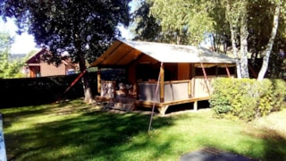 Canvas Lodge Confort+ Victoria 30 M²  (2 Bedrooms) + Sheltered Terrace