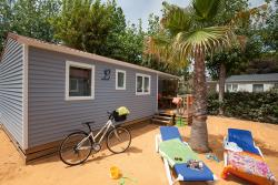 Huuraccommodaties - COTTAGE 4 pers 2 kamers***airconditioning - Les Méditerranées - Camping Nouvelle Floride