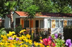 Huuraccommodaties - COTTAGE  4 pers 2 kamers**** airconditioning - Les Méditerranées - Camping Nouvelle Floride