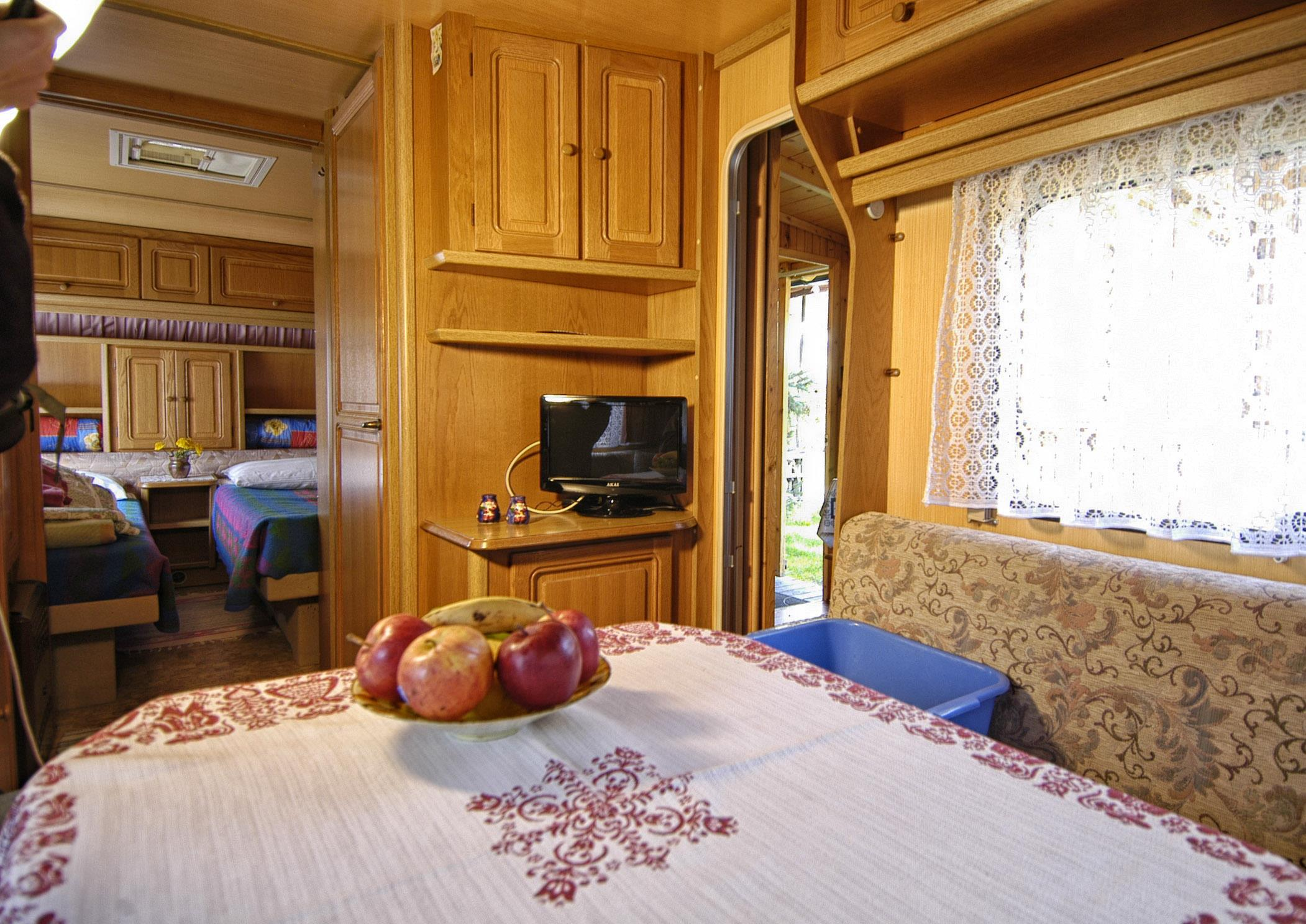 Rental - Caravan - Heating (Extra Fees In Winter) - Camping Catinaccio Rosengarten