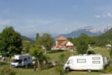 Pitch - Pitch Nature: car + tent/caravan or camping-car - Camping Sites et Paysages BELLE ROCHE