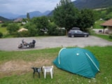Pitch - Pitch tent / moto or bike - Camping Sites et Paysages BELLE ROCHE