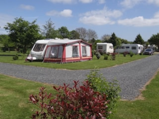 Camping pitch + Car + Tent or Caravan