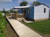 Rental - Mobil-home 30m² 2 bedrooms - adapted to the people with reduced mobility - Camping la Roseraie d'Omaha