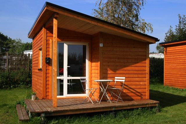 Accommodation - Cabin 17M² - 1 Bedroom + Kitchen + Wc + Tv - Dancamps Kolding