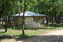 Huuraccommodaties - Cottage Visan - Camping Domaine de la Coronne