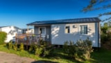 Rental - Mobile home 2 rooms 26m² with half-covered terrace - Camping de La Roche Percée